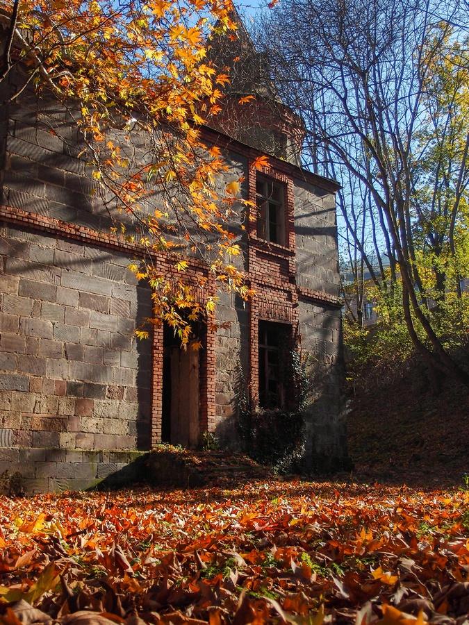 Старые дома в Боржоми