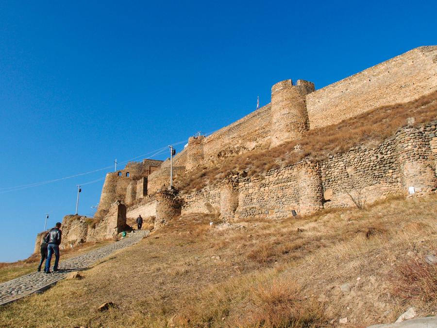 Дорожка к крепости