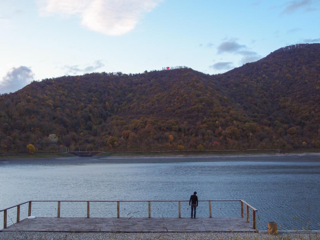 Озеро Ильи в Кахетии