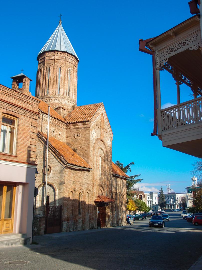 Отреставрированные улочки Телави