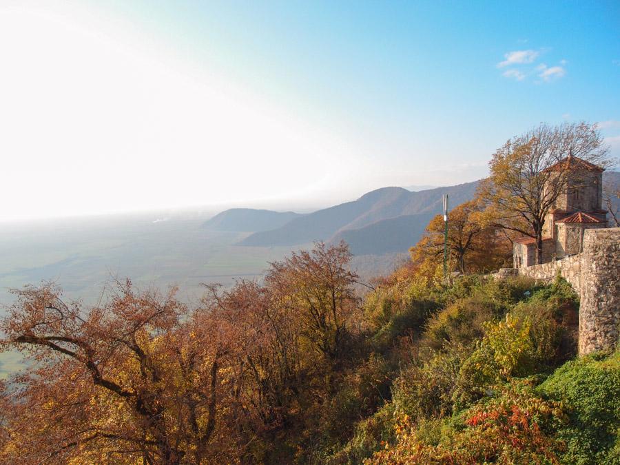 Вид из монастыря Некреси