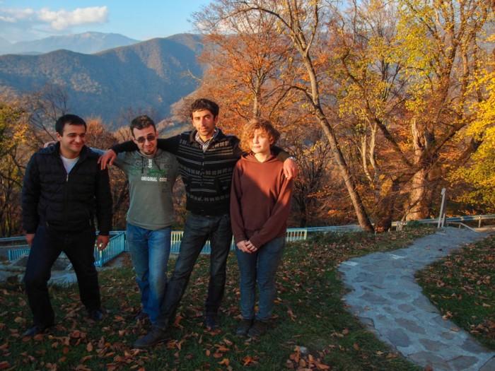 Наша банда в Некреси, Кахетия