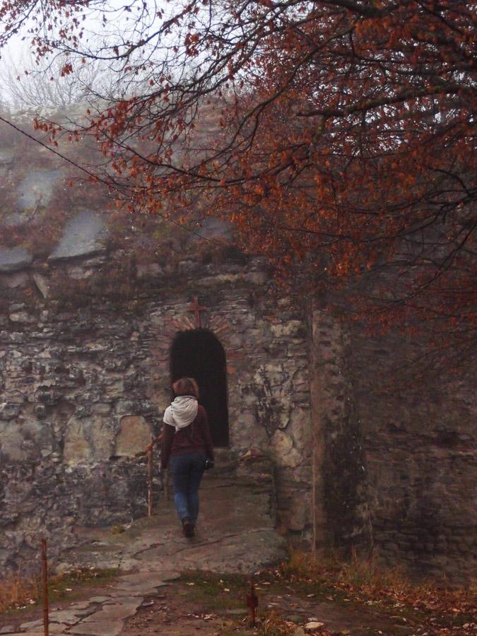 Церковь Джвари Патиосани на территории крепости Уджарма