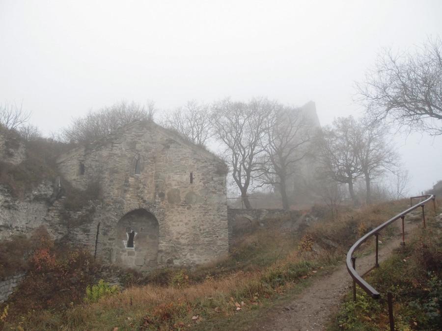 Внутри крепости Уджарма